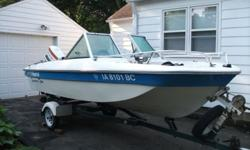 Older boat in great shape 70 horse Johnson, Hummingbird fish finder life jackets and more. Call me at 515-770-7575
