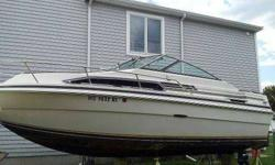 23' Sea Ray, Large cabin, with full size head. Priced to sell.