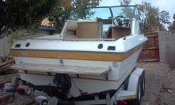 1985 Fiberfoam Cuddy CabinVolvo inboard/outboardWork in progress - new deck and deck carpetNeeds cabin completed and seats recoveredTandum axle trailerPlease call 702-279-4270 for more details2500.00 or best offerListing originally posted at http