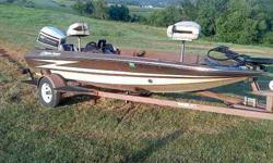 I have a 1985 Hydra Sport fishing boat.It has a 85 horsepower johnson motor.Seats up to three people. but I have had 5 people in it and the boat done great. It has a nice trolling engine. 2 live wells.lots of dry storage.captain seats and a butt seat for