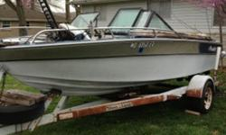 boat and trailer needs interior redone - $2500 or best offer!