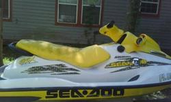 Excellent condition comes with double trailer and new life vests.