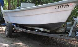 18' Stumpknocker. Currently configured for crabbing but easily changed. Fiberglass V bottom hull. Motor and trailer. Fully Titled, easy to see. Need to sell. cash..negotiable. 843 709 7430