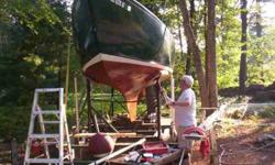 Was $5000 Canadian, great boat with standing headroom. Many new parts... ready to goThe Hull is insulated with interior cedar panels for a warm look.The cushions were professionally covered for about $1000The winches were replaced ( Merriam) $6002 jibs