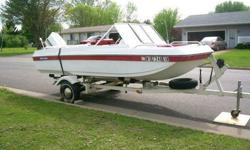 WE ARE LOOKING TO SELL OUR 1975 CHRYSLER 15 FT. TRI-HULL BOAT W/ TRAILER FOR $2,500 OBO. (located in Loyal, WI) GOOD CONDITION! GOOD TIRES & INCLUDES A SPARE TIRE AND SOME OTHER EXTRAS. WE BOUGHT IT BACK IN 2008 AND HAVE ONLY USED IT A FEW TIMES OUT ON