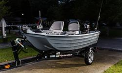 Sun Dolphin Pro 10.2 Bass Boat Fishing Package, Trailer, Suzuki 4 stroke outboard, TrollingFeel like getting into areas normal boats can?t fish? This is the package for you. This is a brand new boat as of last month. I don?t even have it registered yet