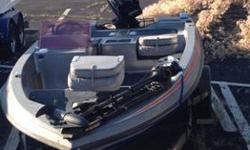 Skeeter 15ft bass boat ('89 - SD-80) w/ 75hp Mercury motor, comes with Eagle Seachamp 1000 fishfinder w/ front and rear temp and speed gauge, Minn Kota Maxxum trolling motor, batteries, two 5-gallon fuel tanks, and trailer has new tires. Power tilt &