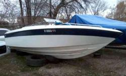 sixteen feet Fishing Boat 150 H/P Out Board motor, some damage on bottom of boat didnt go all the way through. CASH only!!No trailer........ ERIC @ 801-634-9077Listing originally posted at http