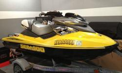 Up for sale - 2004 Sea-Doo RXP with 39 actual (adult ridden) hours. This has been pampered it's entire life, well maintained and properly winterized during the off-season. Most find it hard to believe that the ski is 8 years old. It's still one of the