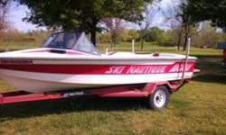 19 ft 1988 Nautique 2001 competition ski boat, Ford 351 that has been completely rebuilt, has aprox. 26 hrs on rebuild, cranking about 240hp. Interior and exterior are in perfect condition, has AM/FM w/AUX radio