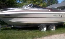 1984 Larson cuddy cabin 21 feet. Mercury five Litre. Bimini top, boat cover. Interior in attractive shape.Runs well. New alternator, new radio, new auxillary oil lines, new impeller, New tires on trailer. Call 812-603-3127Listing originally posted at http
