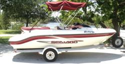 The 1999 Sea Doo Challenger 1800 is a great boat, it's just the right size for what it was intended to do , it's has good speed over 50 mph, very good on fuel (I never used over 1 tankful in a day) It turns on a dime, and it can pull a house. My