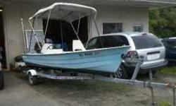 16FT DIXIE SIDE CONSOLE, 1996 30HP JOHNSON, FISH/DEPTH FINDER, LIVE WELL, BIMINI TOP, RUNS AND DRIVES GREAT ANY QUESTIONS CALL OR EMAIL (click to respond) $2800.00 Listing originally posted at http