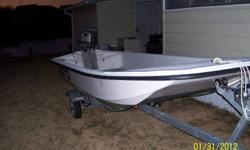 2009 boat & trailer,1997 honda 15hp.