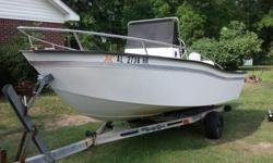 1991 16' Cape Horn, Center Console, 85 HP Johnson, Runs Great, Stable in the water. 2800.00 OBO Call 251-401-0860