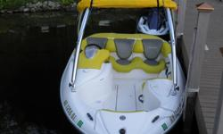 "2002 SEADOO SPORTSTER JETBOAT. THIS IS A 14'6"" BOAT WITH A 7'1"" BEAM. THE ENGINE IS A ROTAX 947 ENGINE 951 cc RATED AT 130 HP. THE BOAT RUNS GREAT. LOW HOURS ON THE ENGINE, LESS THAN 100. THE INTERIOR IS CLEAN. THE TRAILER IS IN GREAT SHAPE. IT COMES WITH"