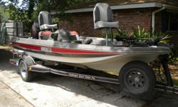 15.5ft challenger bass boat /w 60 horse Mariner