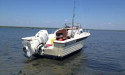 Have a 1984 Grady White Cuddy cabin walk around. Its a 204c overnighter, with a Johnson 150 oceanrunner. Motor is a 1994 has just been fully tuned up and runs strong. Motor has been winterized also. Boat has brand new battery, New bilge included still in
