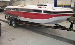 MECHANICS SPECIAL !!! 1988 FOURWINNS 20 FT OPEN BOW WITH TRAILER BOAT NEEDS TO BE COMPLETED EVERYTHING IS THERE ENGINE NEEDS WORK AGREAT LOOKING BOAT GREAT TRAILER. SOLD WITH BILL OF SALE ONLY !! PLEASE CALL AL OR PAUL 847-933-9300 or email (click to