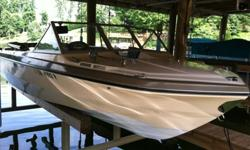 Renovated 1971 Glastron V 174 Crestflite with Mercruiser 165 inline 6.Totally renovated with rebuilt Rochester 2 jet carb. Boat has been updated Bow to Stern. New marine grade plywood floor with sealant and new marine carpet, new upholstery, new seats,