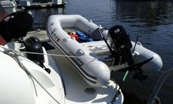 2009 Walker Bay RIB 310 Genesis Deluxe with brand new tubes as of September 2012. 2008 15hp 4-stroke Merc Engine with low hours. Dimensions