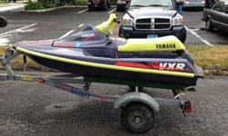 Comes with trailer 1994 Yamaha waverunner VXR Pro with trailer. For more information email (click to respond) or call