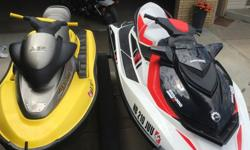 2013 Seadoo Wake 155?Perfect for pulling Wakeboards Skis and Tubes. Has a board rack that mounts to the left side. Retractable pylon behind the seat. 35. Hours. 1999 Sea Doo bombardier XP? Perfect for single or double riders that just want to go fast and