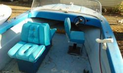 Here is a Nice Big 18' Run about Fishing Boat with Heavy Duty Trailer for sale!!Have Titles for Both!!Solid Floor, Good Seats (Drivers Pedestal and Passenger Back to Backs), Couple Fuel Tanks, Bilge Pump, Good Windshield,etc...This Boat will Need an
