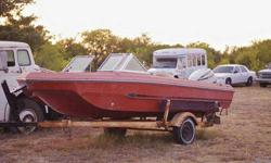 Clear Title to Boat and Motor/Boat Needs Work @ is a Project