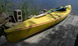 """Aquaterra kayak by Perception. Approximately 13'-6"""" long. Comes with paddle and life jacket. Call Jack at or email me at (click to respond) Listing originally posted at http"""