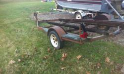 "had an 18 ft boat on it. its a pretty wide trailer 74"" between wheel wells. will sale for 300 call 606 922 1378Listing originally posted at http"