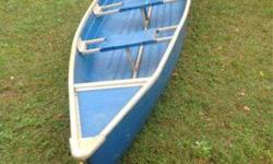 Else enterprise canoe with place to mount trolling engine $300 or possible trade if interested call 256-225-8688Listing originally posted at http