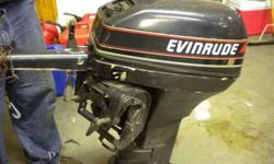 Evinrude fifteen Horsepower moter, two cycle. Runs I just use a trolling moter so I do not need this anymore. Text or call 812-972-0945Listing originally posted at http