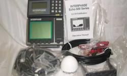 Loran Pilot GPS-Interphase Echo 620 Fish Finder combo. Includes the GPS antenna and the transducer. New in the box. comes with a seven day return policy.$300.00Item#BarR1-4Columbia Marine Exchange7911 NE 33rd Drive. Suite