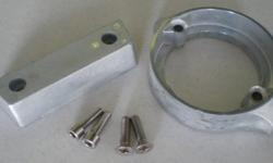 Volvo 290 Duo Prop Anode Kit comes complete with hardware. All Zincs for Boats anodes are built to high quality standards and meet United States Military specifications.Tecnoseal's in-house laboratory facilities ensure the purity of the raw material and