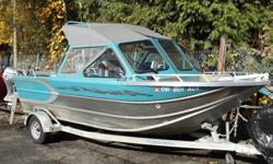 Crazy price! Motion Marine Outback design by Idaho Boats. 3.0 Litre Optimax Mercury Sportjet with large reverse bucket. Custom High-Side. Full canvas. Deluxe kicker engine with TR-1 remote system.Shows very nice. Don't miss out on this great find. Try the