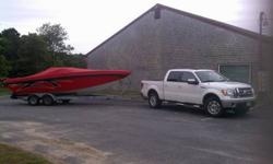Boat runs and looks mint. 6.2L V8 Very low hours, mostly fresh water. It has a fresh water cooling system so it does not take raw water into the motor. Very rare option on boats like this. One of the best constructed boats out there of this style. Sleeps