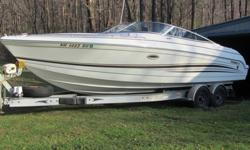 2001 Formula 260 SS,Only one meticulous owner, and I am motivated to sell. This trailer boat has to be seen to be appreciated. I have about 30 pics for interested buyers. Since 2001 it has been in my barn for about 9 months each year, and covered on a