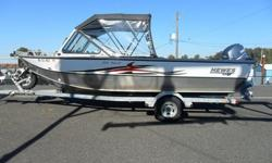 Powered with a - Yamaha F115 4-Stroke - Yamaha 8 HP kicker - Lowrance HDS7 - Eagle EVR-100 - Stern Cover - (2) Hi-Back Seats - (2) Long Jump Seats - Anchor Roller - Bow Rails - Live well - Wash-down - Yamaha Multi Function Tach - EZ Loader Trailer - Swing