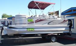 "2014 Qwest LS 818 XRE TT with Mercury 115hp Four Stroke Sale Price Only $31,995. "" Loaded""1. Qwest LS Premier Model "" Loaded with Features""2. XRE Fishing Package3. Q3 Fusion Triple Tube Performance Package4. SE Interior Upgrade5. Ski Tow Package6. Mercury"