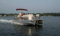 2014 Qwest LS 818 XRE TT ( Triple Tube Performance Pontoon 38 to 40 mph ) by Apex Marine **** Sale Price Only $31,995 !! Trades Welcome! Financing Available O.A.C.! ***** **Price Includes: ** 2014 Qwest LS 818 XRE Cruise ( Rear Fishing Stations ) 2014