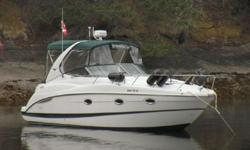 A very comfortable coastal cruiser for a small family or s couple looking to do some gunkholing. Forward is the guest berth, aft to starboard is the convertible dinette; aft is the fully enclosed head with shower; across to port is the galley. Aft to port