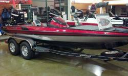 Rigged and ready Stratos 189 VLO bass boat package.Equipped with