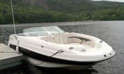 2004 Chaparral 236 Sunesta This is a great lake boat, hours of fun with the kids. Check out the wet bar in the cockpit, fun for the adults to. Every inch of this boat is utilized in some way. Very nicely laid out. This listing has now been on the market