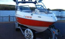 Purchased new in 2008, FULLY LOADED! WARRANTY THROUGH APRIL 3, 2013, duel batteries, four channel 320 watt JBL Marine amplifier, MP3 stereo jack, Hydro Turf in the head, stainless cup holders/Hydro Turf above the head, 10 inch Sony marine sub woofer, four