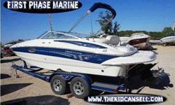 2005 Crownline 220 EX with trailer For Sale by First Phase Marine - Sunrise Beach, Missouri Exterior Color