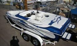 NICE & CLEAN MID CABIN OPEN BOW,JUST OVER 230HRS,MERCRUISER 35O MAG,BRAVO 1 OUTDRIVE,MORE INFO & PICS COMING SOON. 928-855-9555 www.horizonmotorsportsllc.com