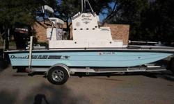 Get Off the Shore and On the Flats!!! Reduced $10,000 from Purchase Price after being pre-owned just ten times!!! 2010 Dargel Skout 190 Texas Flats Edition w/ Lifetime Hull Warranty & 140HP 4-Stroke Suzuki with 5 yr Transferable Warranty! The matched
