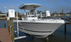 Great coastal or offshore fishing boat! These boats were made locally and work great for the Gulf of Mexico. This one was purchased with the Tournament Package w/ Outriggers.Powered by a smooth Suzuki 175 four stroke. She'll run quiet and have lower fuel