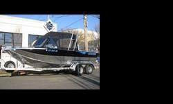 """2004 Customweld Cobra SE """"Wide Body"""" Inboard Jet -- 6.0L Kodiak/ AT 312 , Low Hours (only 68), Superb condition! This well mAintained Cobra SE Inboard Jet is in FANTASTIC condition. It has 68 hours on engine and runs and checks out mechanically perfect."""